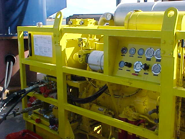 Hydraulic Power Pack Oil Control Systems